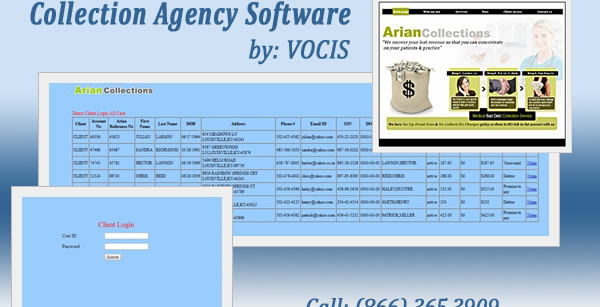 Debt collection agency software development USA