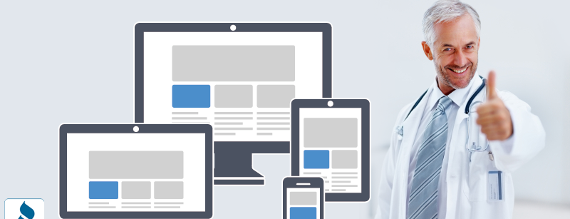 Responsive Website for Physicians