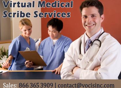 Virtual Medical Scribe Services