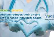 Anthem reduces their on-and off-exchange individual health plan offerings