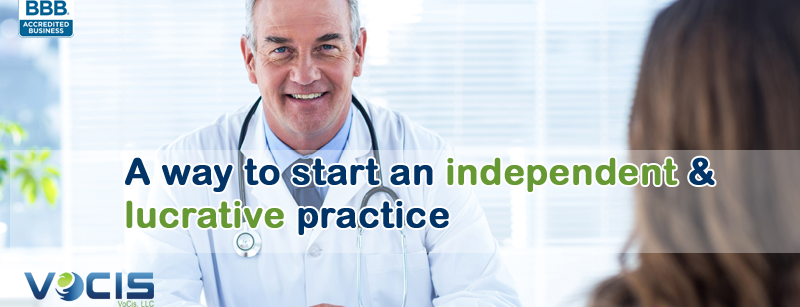 start an independent and lucrative practice